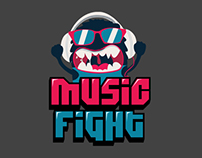 Concept App - Music Fight (3 Style)