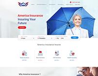 Insurance Agency Website Mockup