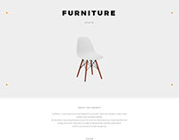 Furniture online store template