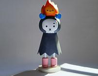 Death x Little Flame First Gen Figure