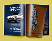 ix35 - anúncio de revista