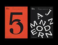 Jazz Modern Festival Identity