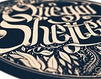 Onegai Shelter Typography