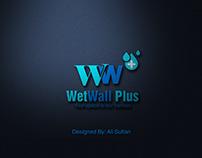 WetWall Plus Logo Design
