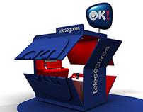 OK Teleseguros Kiosk