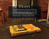 Leadership on the Line Infographic