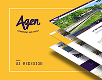 Agen Tourist Office - UI Redesign