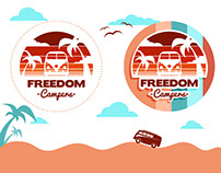 Logo Design Freedom Campers