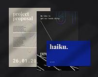 Visual Identity for Haiku Design House