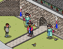 Sungnyemun Gate (Pixel World)