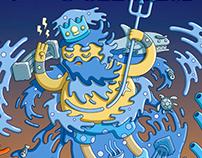 Waterbending Poseidon