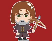 Game of Thrones Fanart Stickers