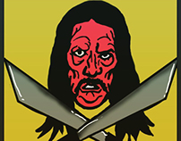 machete dany trejo illustration