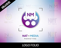Nat Media Logo Design