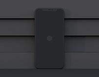 iPhone X Clay Free Mockups