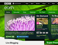 BBC /programmes brand page design (responsive)