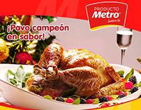 Diseño Post Productos Metro - 2014