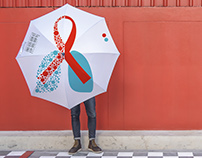 Brand identity for Hot Line on HIV/AIDS & tuberculosis