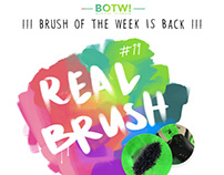 Free PS-Brush #19: REAL BRUSH