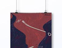 Плакат для XXIX музыкального фестиваля Соллертинского.