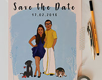 Karen & Venkat (Save the Date)