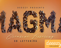 FREE Magma 3D Lettering