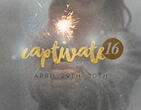 2016 Captivate Event Branding
