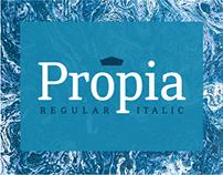 Propia Font