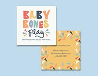 Baby Bones Play brand identity