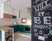 Interior photography & design: Colorful Kitchen