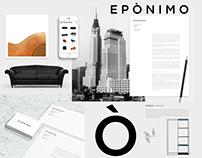 Eponimo, brand identity