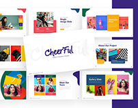 Cheerful – Attractive Powerpoint and Keynote Template