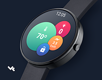 AndroidWear Bubble