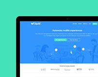 Liquid // Web design
