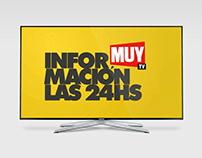 Branding de TV | MUY TV [Diseño II - Cat. Belluccia]