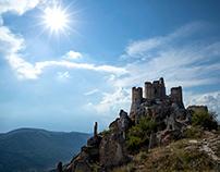 Reportage on Rocca Calascio (Abruzzo).