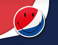 Pepsi x Smiley collaboration concept