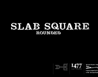 Slab Square Rounded Typeface Design