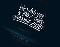 A 100% super awesome 2018!
