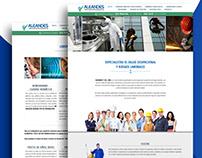 [ Web design ] - Site vitrine Aleandes