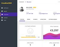 CRM Dashboard UI - Free Download