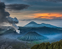 Mt. Bromo, One should give enough time to create image
