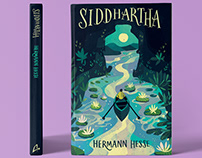 Siddhartha Book Cover Illustration
