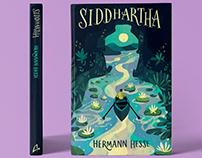 Siddhartha Book Cover Illustration