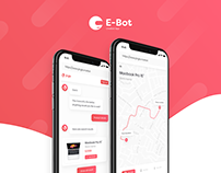 E-bot - Chatbot app for web and mobile