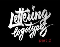 Lettering Logotypes Part 2