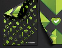 Healthmix branding