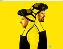 Breaking Bad Minimalist Poster Series