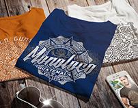 T-shirt designs for MONOLOCO ANTIGUA GUATEMALA