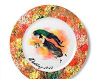 Marc Chagall Commemorative Plate Designs